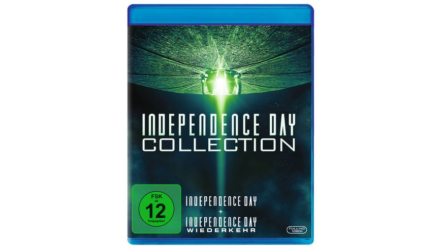Independence Day 1 2 Box Set 3 BRs