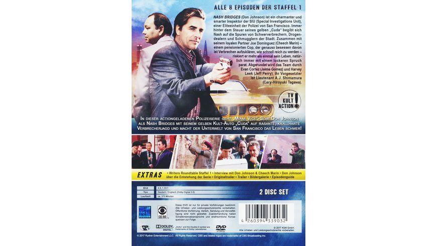 Nash Bridges Die erste Staffel 2 DVDs