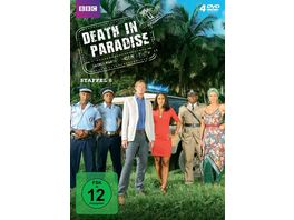 Death in Paradise Staffel 6 4 DVDs