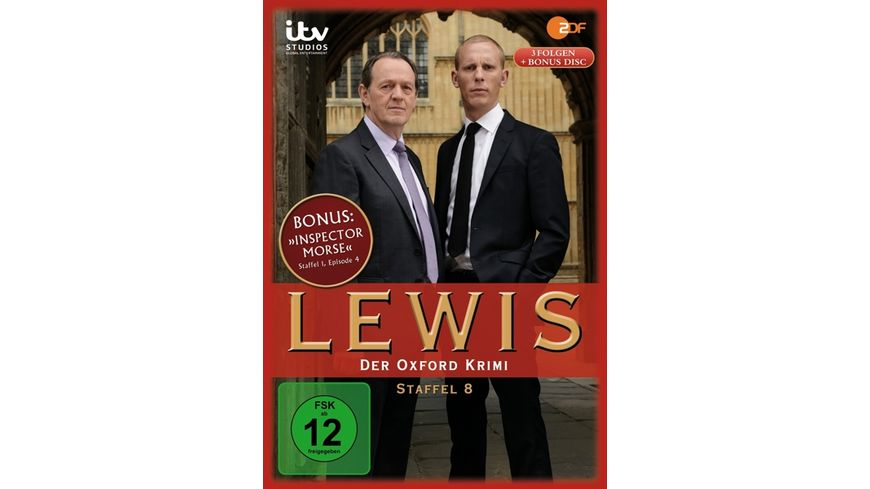 Lewis Der Oxford Krimi Staffel 8 4 DVDs