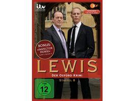 Lewis Der Oxford Krimi Staffel 8 4 DVDs