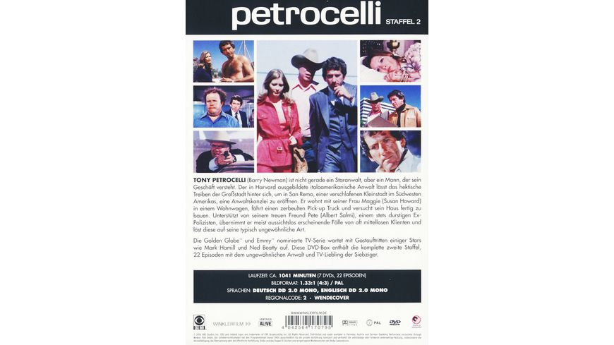 Petrocelli Staffel 2 7 DVDs