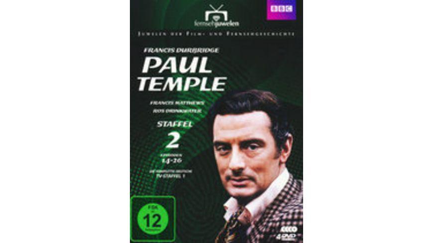 Francis Durbridge Paul Temple Box 2 4 DVDs