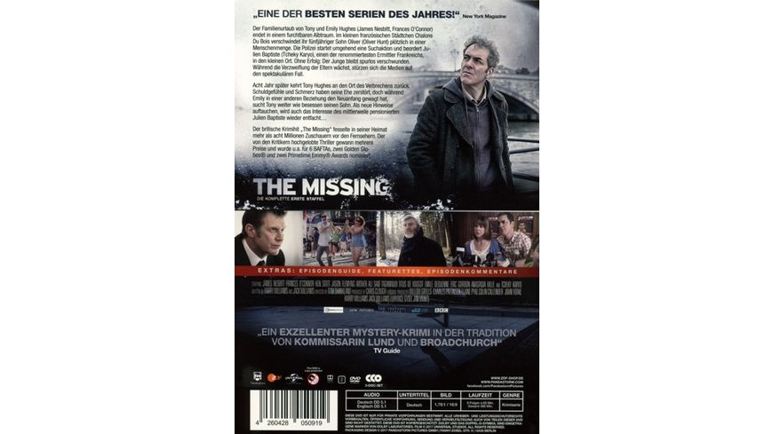 The Missing Staffel 1 3 DVDs