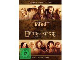 Mittelerde Collection 6 DVDs