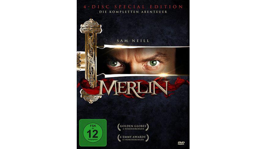 Merlin Die komplette Serie 4 DVDs