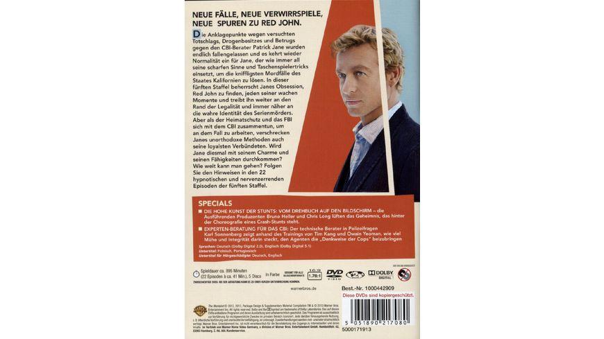 The Mentalist Staffel 5 5 DVDs