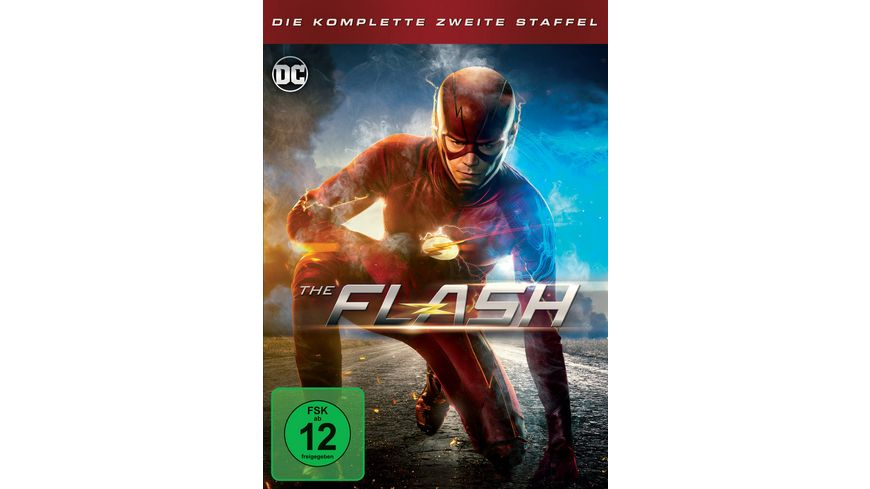 The Flash Die komplette 2 Staffel 6 DVDs