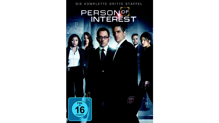 Person of Interest Staffel 3 6 DVDs