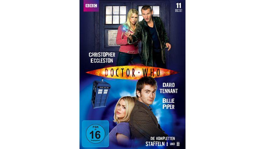 Doctor Who Die kompletten Staffeln 1 und 2 11 DVDs