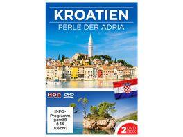 Kroatien Perlen der Adria 2 DVDs