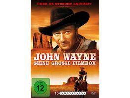 John Wayne Seine grosse Filmbox 15 DVDs