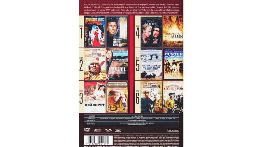 Buffalo Bill und die Geschichte des Wilden Westens 6 DVDs