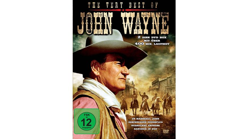 John Wayne The Very Best Of 2 DVDs