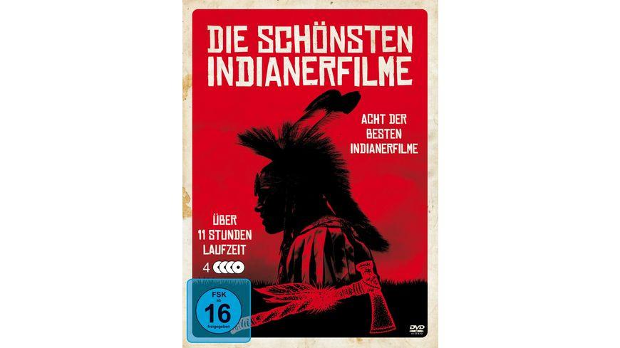 Die schoensten Indianerfilme 4 DVDs