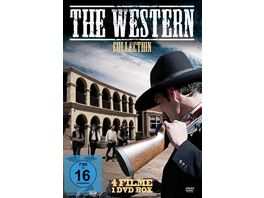 The Western Collection 4 Filme Uncut Edition