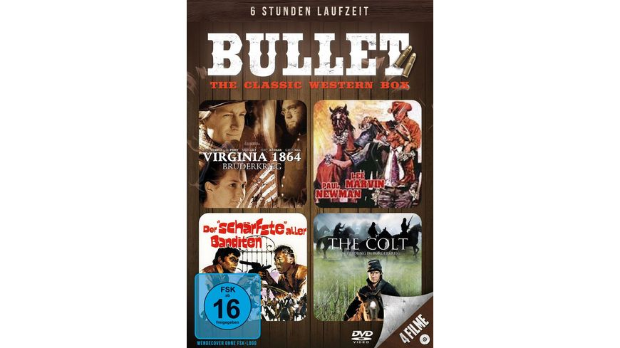 Bullet The Classic Western Box