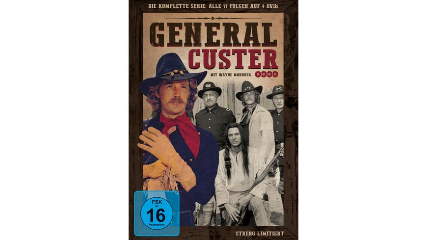 General Custer Die kompl Serie 4 DVDs LE