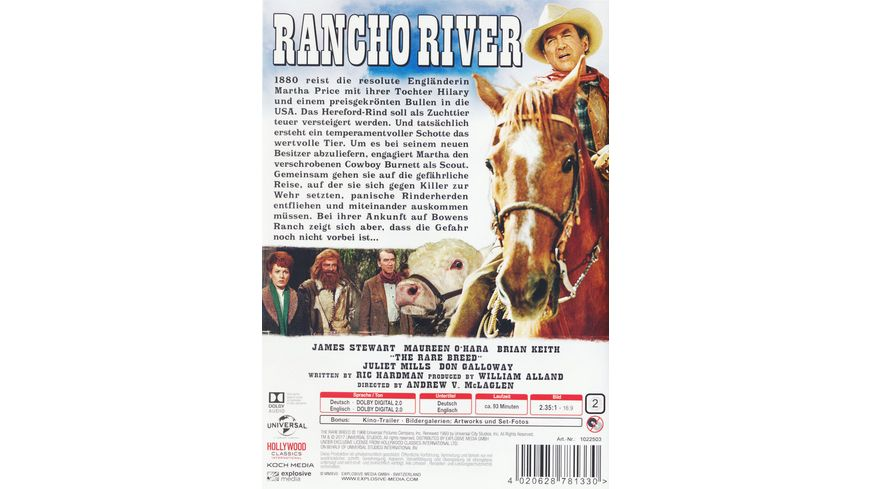 Rancho River The Rare Breed