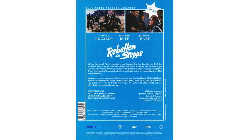 Rebellen der Steppe Digitally Remastered Western Legenden No 38