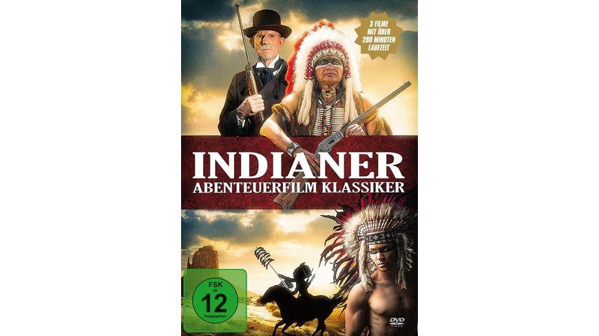 Indianer Abenteuerfilm Klassiker 3 DVDs