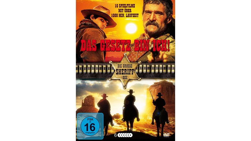 Das Gesetz bin ich Die grosse Sheriff Box 6 DVDs
