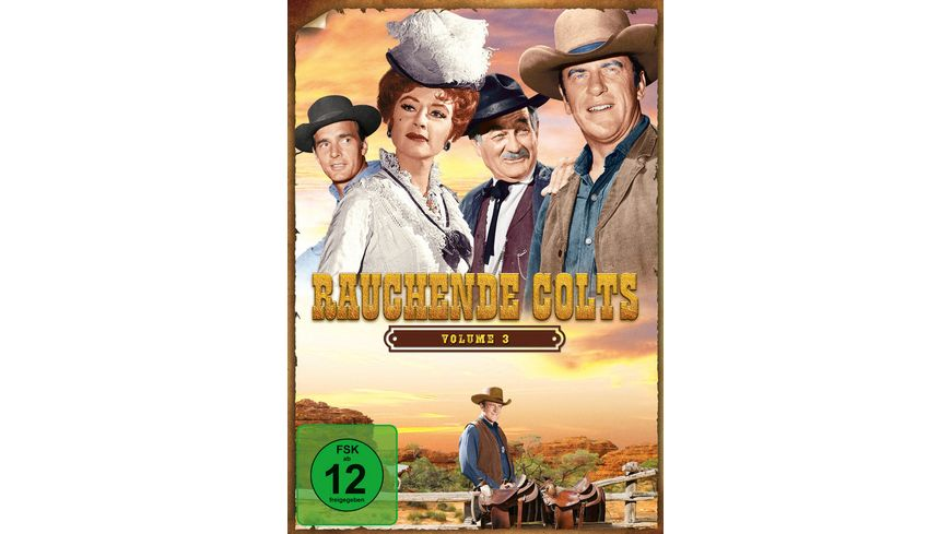 Rauchende Colts Volume 3 7 DVDs