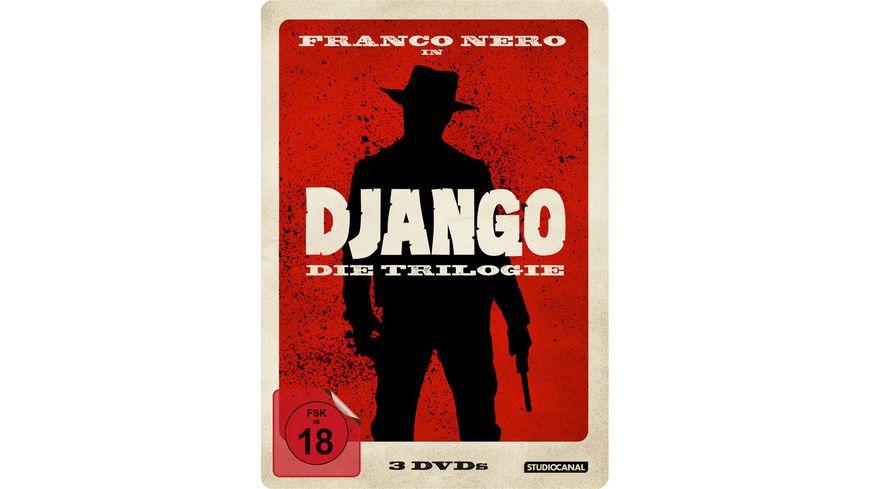 Django Die Trilogie Steel Edition 3 DVDs