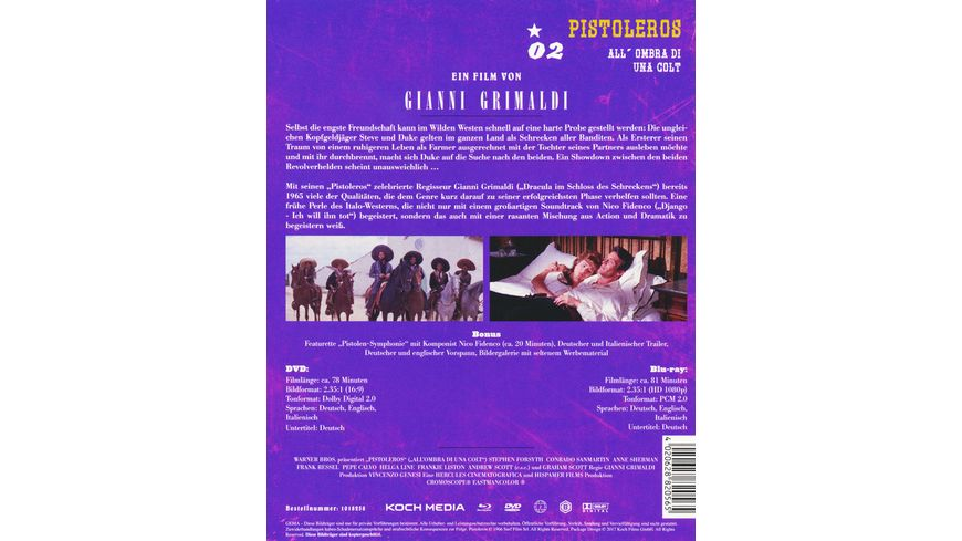 Pistoleros Westernhelden 2 DVD