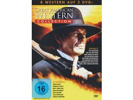 Great American Western Collection 2 DVDs