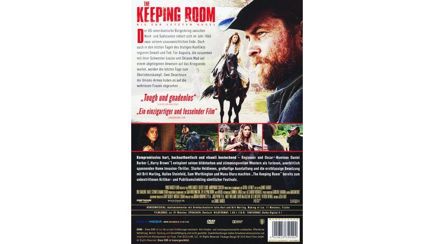 The Keeping Room Bis zur letzten Kugel