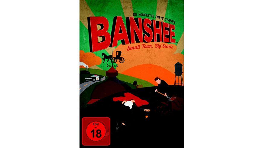 Banshee Staffel 1 4 DVDs