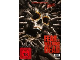 Fear the Walking Dead Die komplette zweite Staffel Uncut 4 DVDs