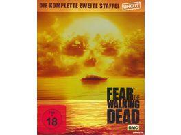 Fear the Walking Dead Die komplette zweite Staffel Uncut Steelbook 4 BRs