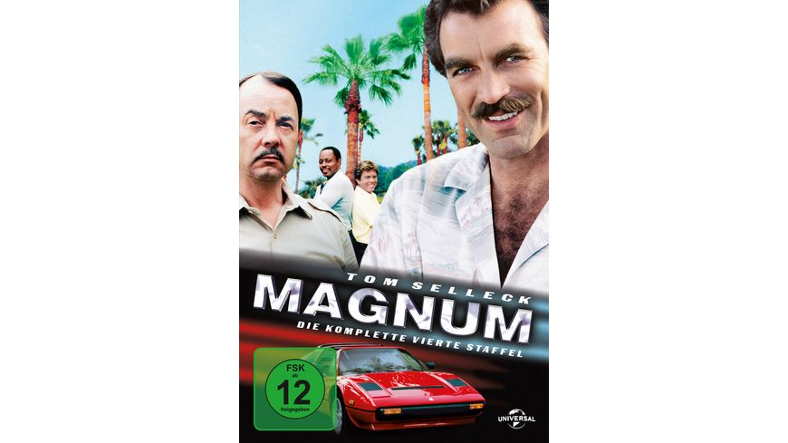 Magnum Season 4 6 DVDs