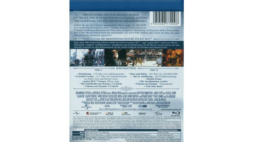 Gladiator 10th Anniversary Edition 2 BRs