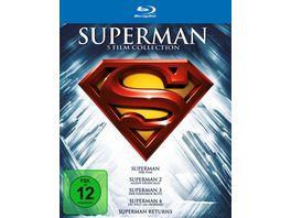Superman Die Spielfilm Collection 1978 2006 5 BRs