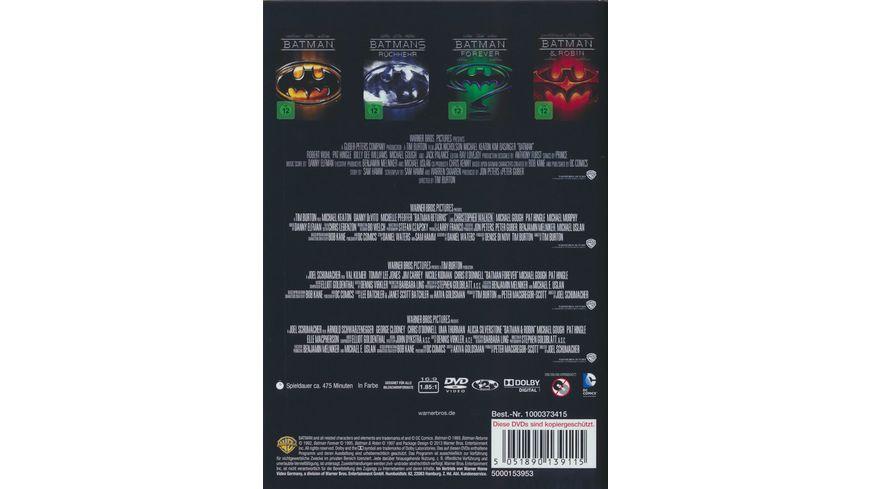 Batman 1 4 4 DVDs
