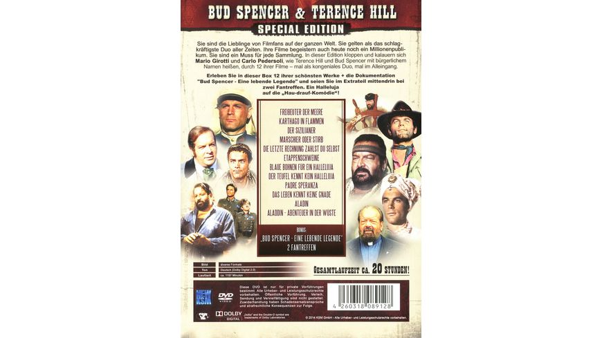 Bud Spencer Terence Hill Edition Special Edition 5 DVDs