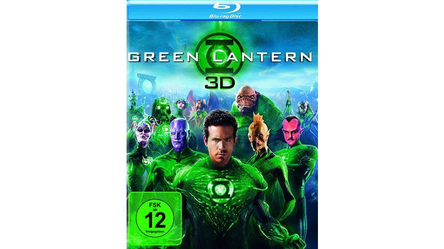 Green Lantern Blu ray