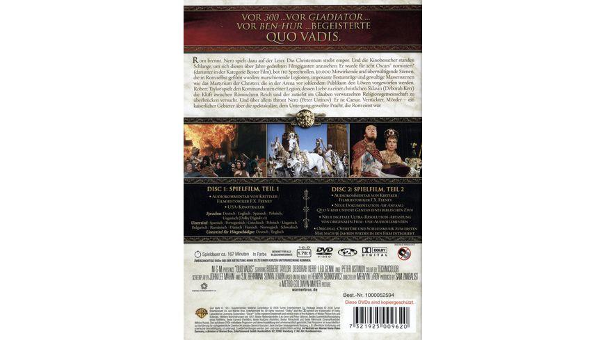Quo Vadis SE 2 DVDs