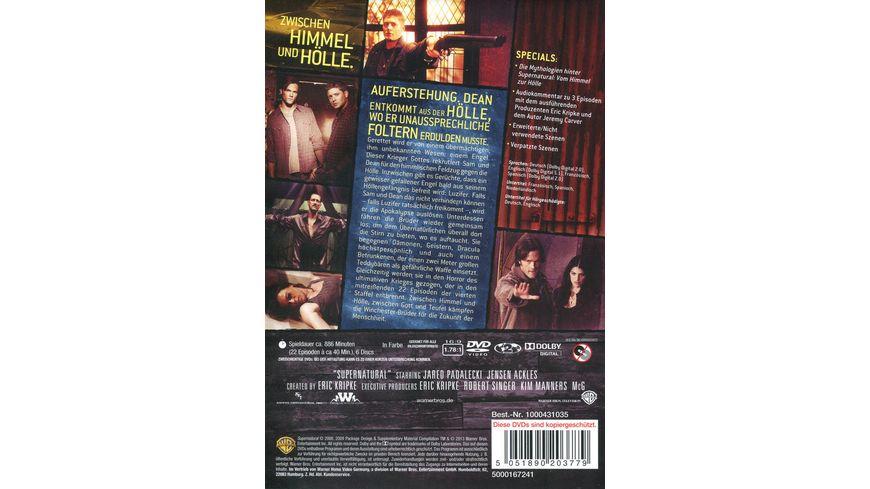 Supernatural Staffel 4 6 DVDs