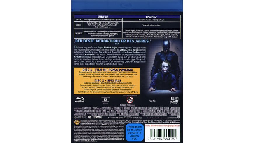 The Dark Knight 2 BRs
