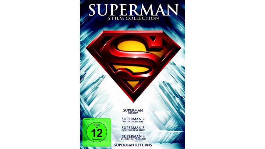 Superman Die Spielfilm Collection 5 DVDs