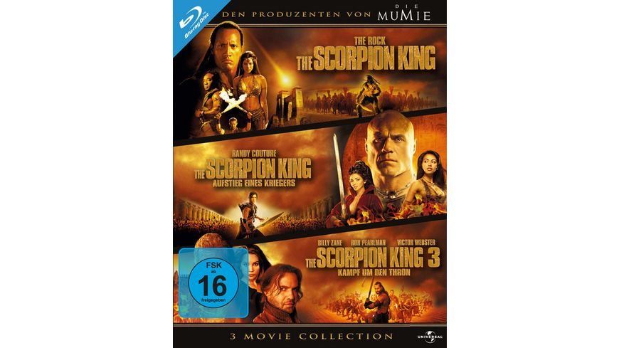 The Scorpion King 1 3 Box 3 BRs