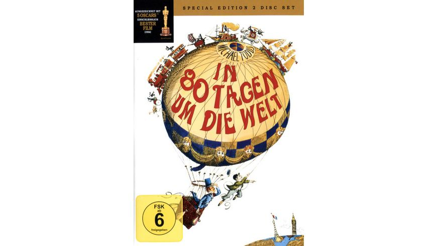 In 80 Tagen um die Welt Classic Collection SE 2 DVDs