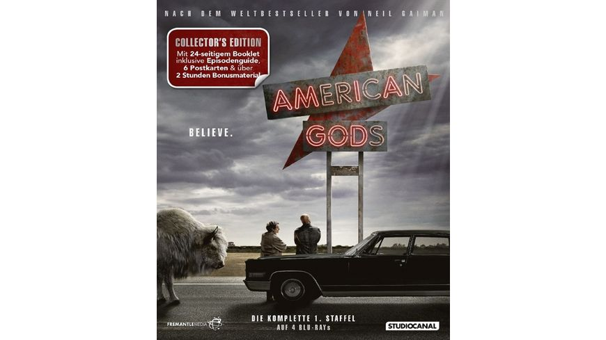 American Gods Staffel 1 Collector s Edition 4 BRs