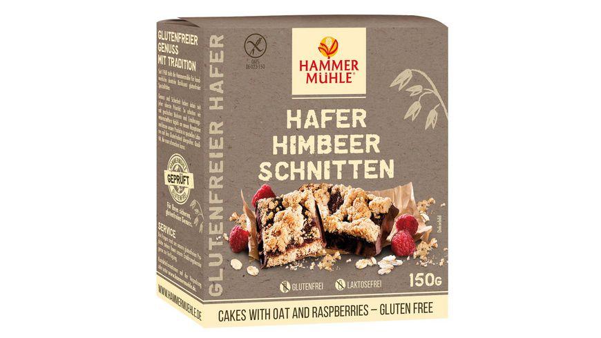 HAMMERMUeHLE Himbeer Schnitten