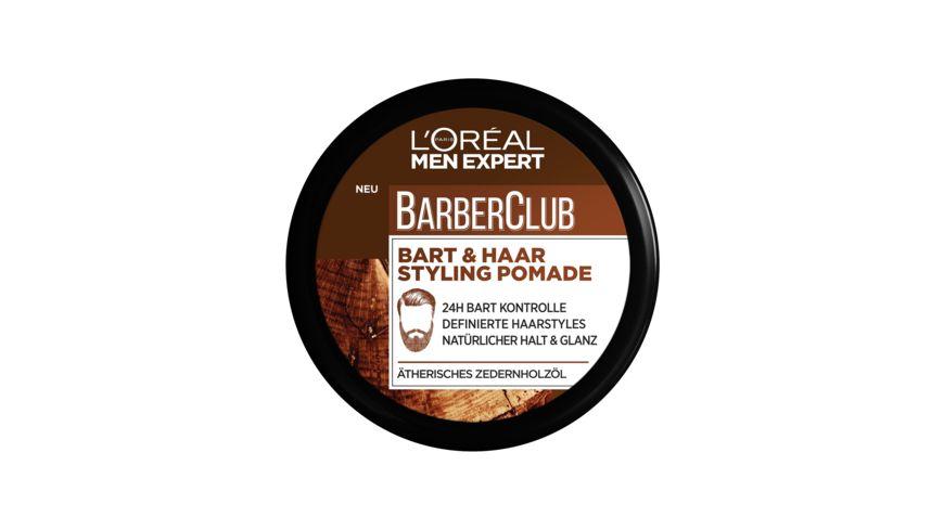 L OREAL PARIS MEN EXPERT BARBER CLUB Bart Haar Styling Pomade