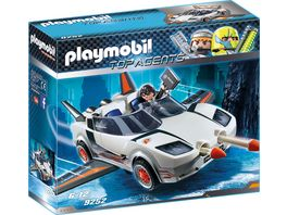 PLAYMOBIL 9252 Top Agents Agent P s Spy Racer